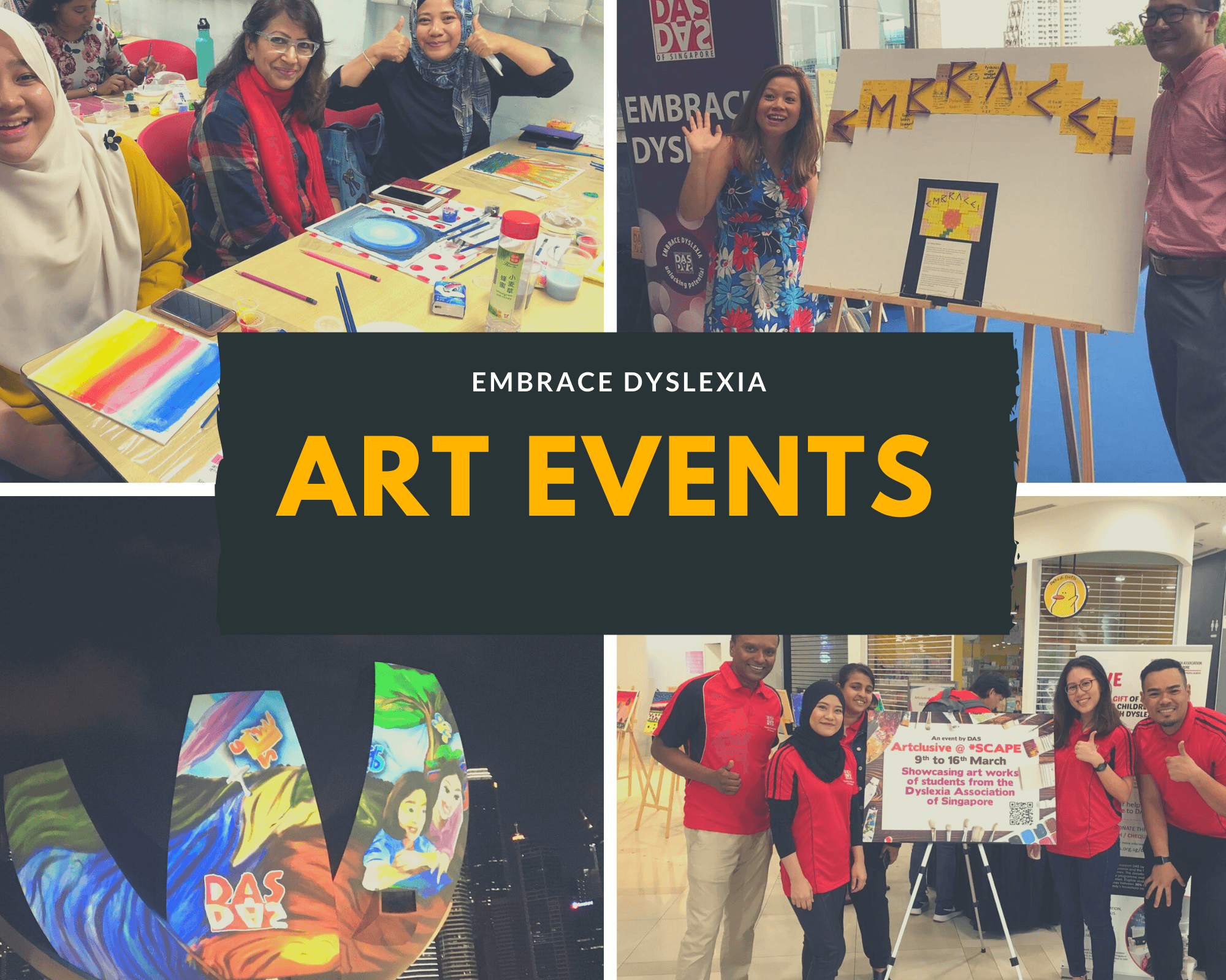 ART EVEnts Collage